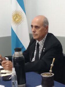 Héctor Otermín, presidente de la FeVA